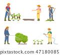 农作 农事 男性 47180085