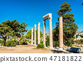Ruins of Byblos in Lebanon, a UNESCO World Heritage Site 47181822