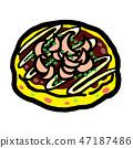 Okonomiyaki 47187486