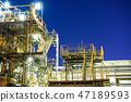 工廠 工廠夜景 京濱工業區 47189593