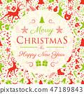 คริสต์มาส,คริสมาส,เวกเตอร์ 47189843
