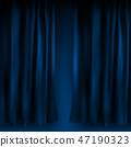 background blue vector 47190323
