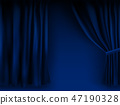 background blue vector 47190328
