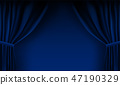 background blue vector 47190329