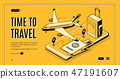 ticket, plane, airplane 47191607