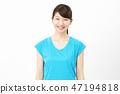 女子体育微笑 47194818