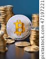 coin, bitcoin, gold 47197221
