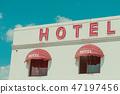 banner, broken, hotel 47197456