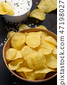 bowl, chip, chips 47198027