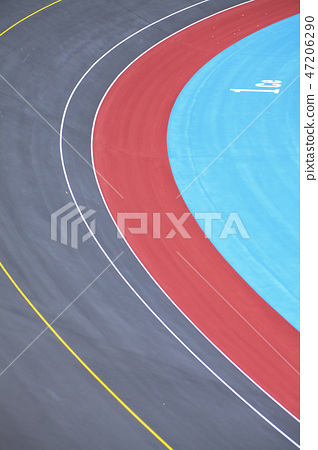 Bicycle race track 47206290