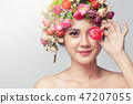 Portrait beauty woman  47207055