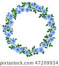 玫瑰 玫瑰花 框架 47209934