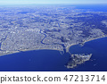 湘南海岸/江之島,鳥瞰圖 47213714