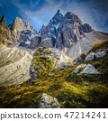 passo rolle alps detail 47214241