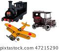 老式車輛3種類型設置 47215290