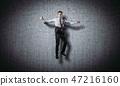 businessman, business, jumping 47216160
