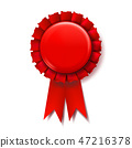 award, ribbon, vector 47216378
