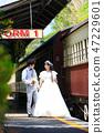 注視Kuranda駐地圍場的婚禮夫婦 47229601