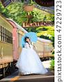 新娘先生在庫蘭達站院子裡享受位置攝影 47229723