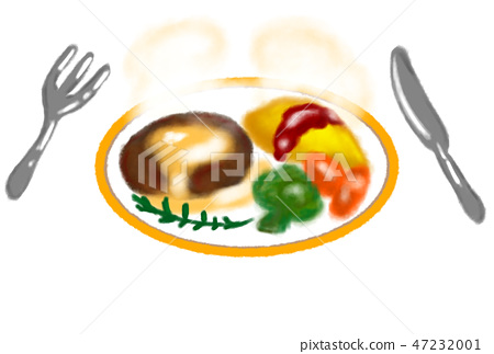 Hamburger lunch. 47232001