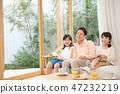 父母和孩子的女孩爸爸家庭形象 47232219