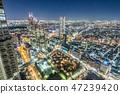 新宿摩天大樓組在晚上 47239420