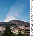 Twilight Stilo village, Calabria, Italy. 47241423