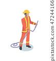 fireman, firefighter, man 47244166