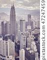 Kuala Lumpur skyline, Malaysia. 47247459