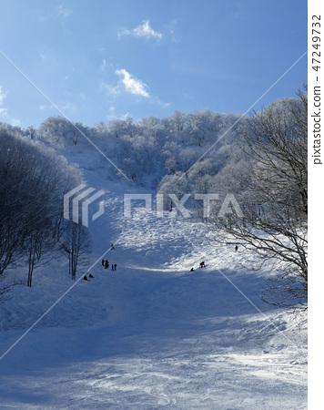 Murao Kogen滑雪勝地的水晶路線上部 47249732