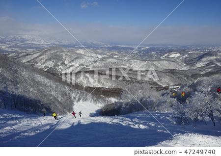 Murao Kogen滑雪勝地的水晶路線上部 47249740