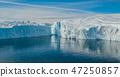 Iceberg aerial image- giant icebergs in Disko Bay on greenland 47250857