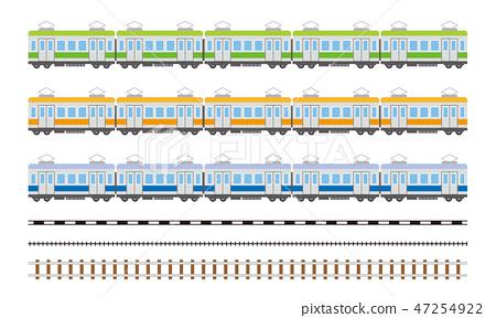 火车轨道 47254922