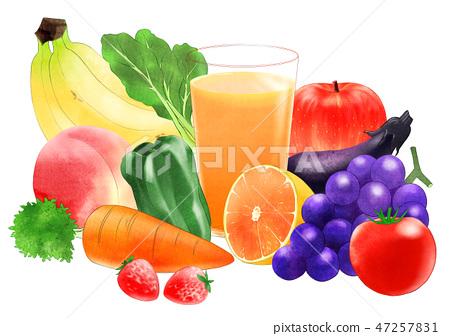 蔬菜汁 47257831