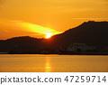 Sunset of Shodoshima Island 47259714