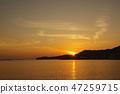 Sunset of Shodoshima Island 47259715