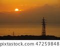 sunrise, morning sun, sunup 47259848
