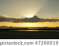 beams of twilight, blue water, marine 47260019