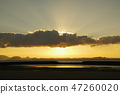 beams of twilight, blue water, marine 47260020