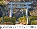 <Katakura Castle> Sumiyoshi Shrine Torii Katakura Town, Hachioji City, Tokyo 47261847