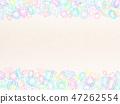 寶石背景(薄米色) 47262554