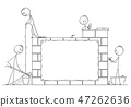 wall, brick, man 47262636