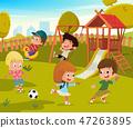 操场 公园 玩耍 47263895