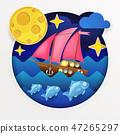 sea, ocean, boat 47265297