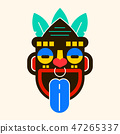 Mask Idol Icon. Cartoon Of Mask Idol Vector Icon 47265337