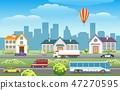 วิวเมือง,ทิวทัศน์ของเมือง,พานอรามา 47270595
