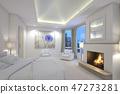 하얀 침실 47273281