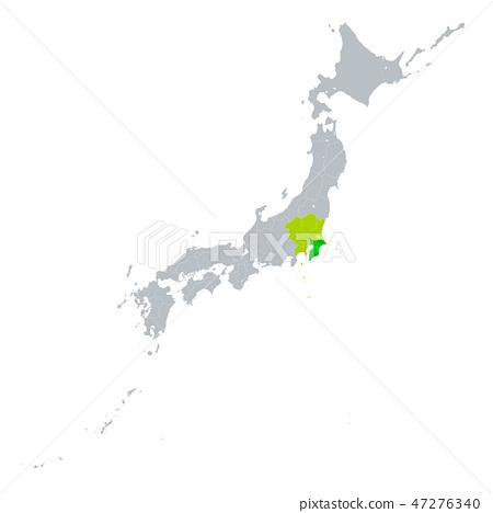 치바현지도 47276340