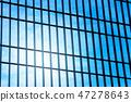 glass window of modern skyscraper 47278643