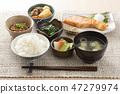 日本早餐圖像 47279974